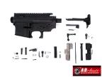 M4/M16 Series Metal Receiver (Magpul Carve Marking) - Black