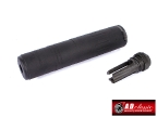 AAC M4-2000 Silencer Deluxe Version (14mm CCW) - Black