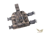 Flyye MOLLE Style Leg Panel with Holster
