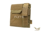 Flyye Molle Administrative/Pistol Mag Pouch KH