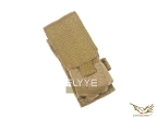 Flyye MOLLE Single M16 Mag Pouch KH