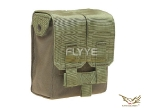 Flyye MOLLE M249 200Rds Ammo Pouch OD