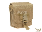 Flyye MOLLE M60 100Rds Ammo Pouch KH
