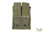 Flyye MOLLE Double 9mm Mag Pouch OD