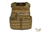 Flyye Force Recon Vest with Pouch Set Ver.Land CB