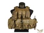 Flyye RAV Vest with Pouch set KH