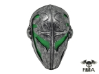 "FMA Wire Mesh ""Templar"" Mask (Green) tb564"