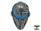 "FMA Wire Mesh ""Templar"" Mask (Blue)tb565"