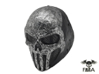 """FMA Wire Mesh """"SKULL PUNISNER"""" Gray Mask (Senior model)"""