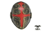 "FMA Wire Mesh ""Cross the king"" Mask (Gold)tb610"